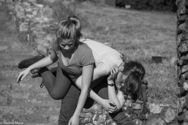 Hannah Wasielewski and Lili Weckler. Photo by Melina Meza.